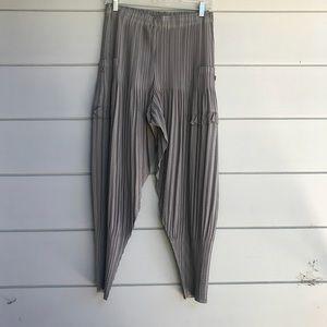 Pants - Pleated Harem Pants
